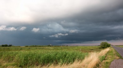 Storm in the hungarian plains